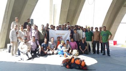 گزارش برنامه 1 خرداد، کلکچال از مسیر جمشیدیه تا نورالشهدا + تصاویر