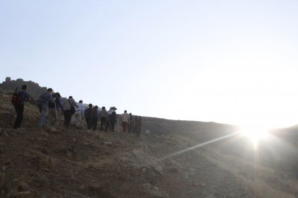 گزارش کوهپیمایی جمعه 9 مرداد – تپه نور الشهدا از گلابدره و جمشیدیه  + تصاویر