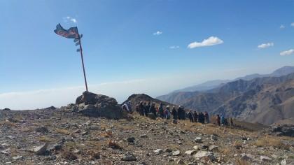 گزارش برنامه پنجشنبه، 23 مهر، اول محرم – سیاهپوشی مسیر و قله کلکچال